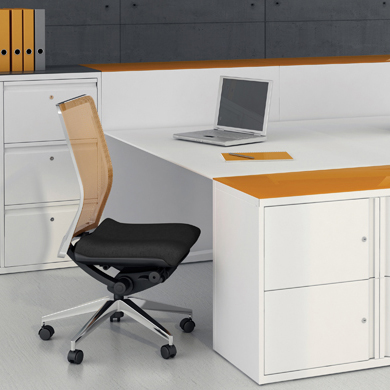 Silverline Desk Storage