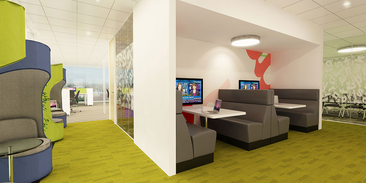office breakout meeting area design