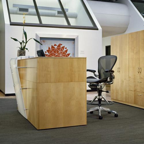 Herman Miller Reception Desk