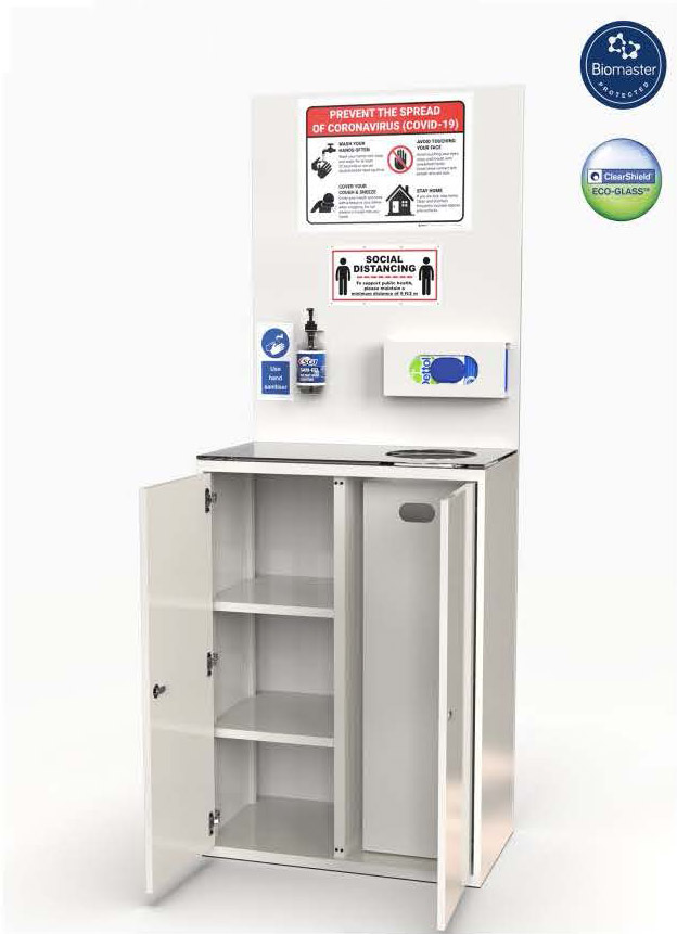 sanitation station for covid-19 for offices